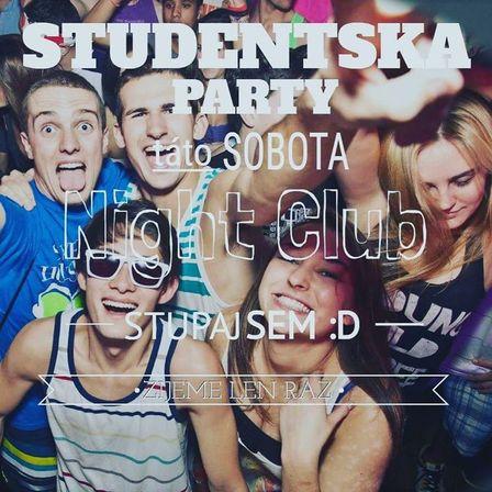 af6678411 Študentská Party - Vstup zdarma